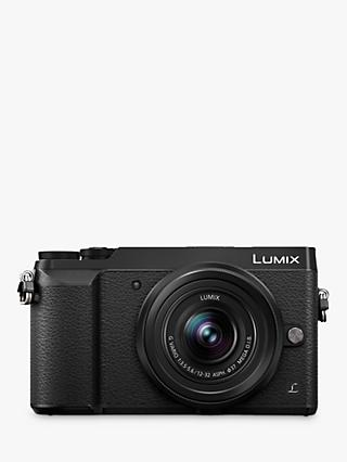 "Panasonic Lumix DMC-GX80 Compact System Camera with 12-32mm Interchangable Lens, 4K Ultra HD, 16MP, 4x Digital Zoom, Wi-Fi, 3"" LCD Touchscreen Free-Angle Monitor"