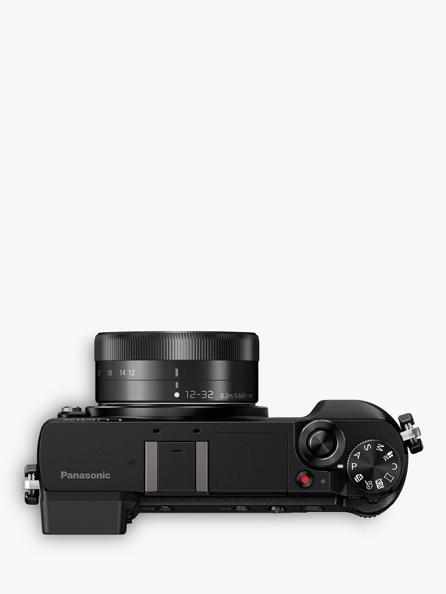 Panasonic Lumix DMC-GX80 Compact System Camera with 12-32mm Interchangable  Lens, 4K Ultra HD, 16MP, 4x Digital Zoom, Wi-Fi, 3