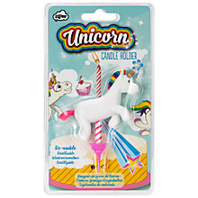 Buy NPW Unicorn Candle Holder Online at johnlewis.com