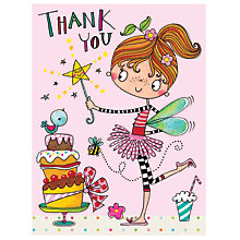 Buy Rachel Ellen Fairy Thank You Notecards, Pack of 5 Online at johnlewis.com