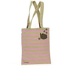 Buy Pusheen Tote Bag, Cream/Pink Online at johnlewis.com