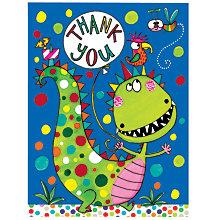 Buy Rachel Ellen Dinosaur Thank You Notecards, Pack of 5 Online at johnlewis.com