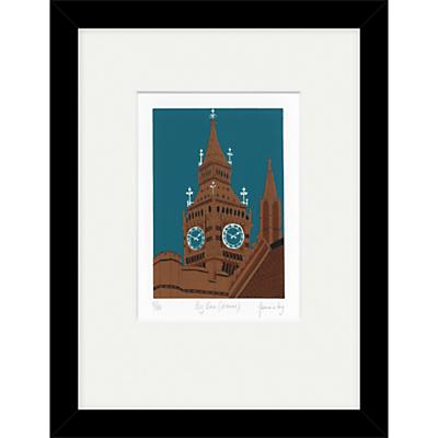 Jennie Ing – Big Ben Sienna Limited Edition Framed Print, 34 x 44cm