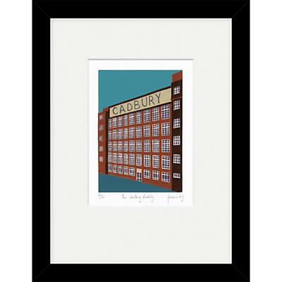 Jennie Ing – The Cadbury Building Limited Edition Framed Print, 34 x 44cm