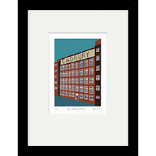 Buy Jennie Ing - The Cadbury Building Limited Edition Framed Print, 34 x 44cm Online at johnlewis.com