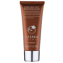 Buy Liz Earle Sheer Skin Tint Bronzing Fluid, 01 Bronze, 40ml Online at johnlewis.com