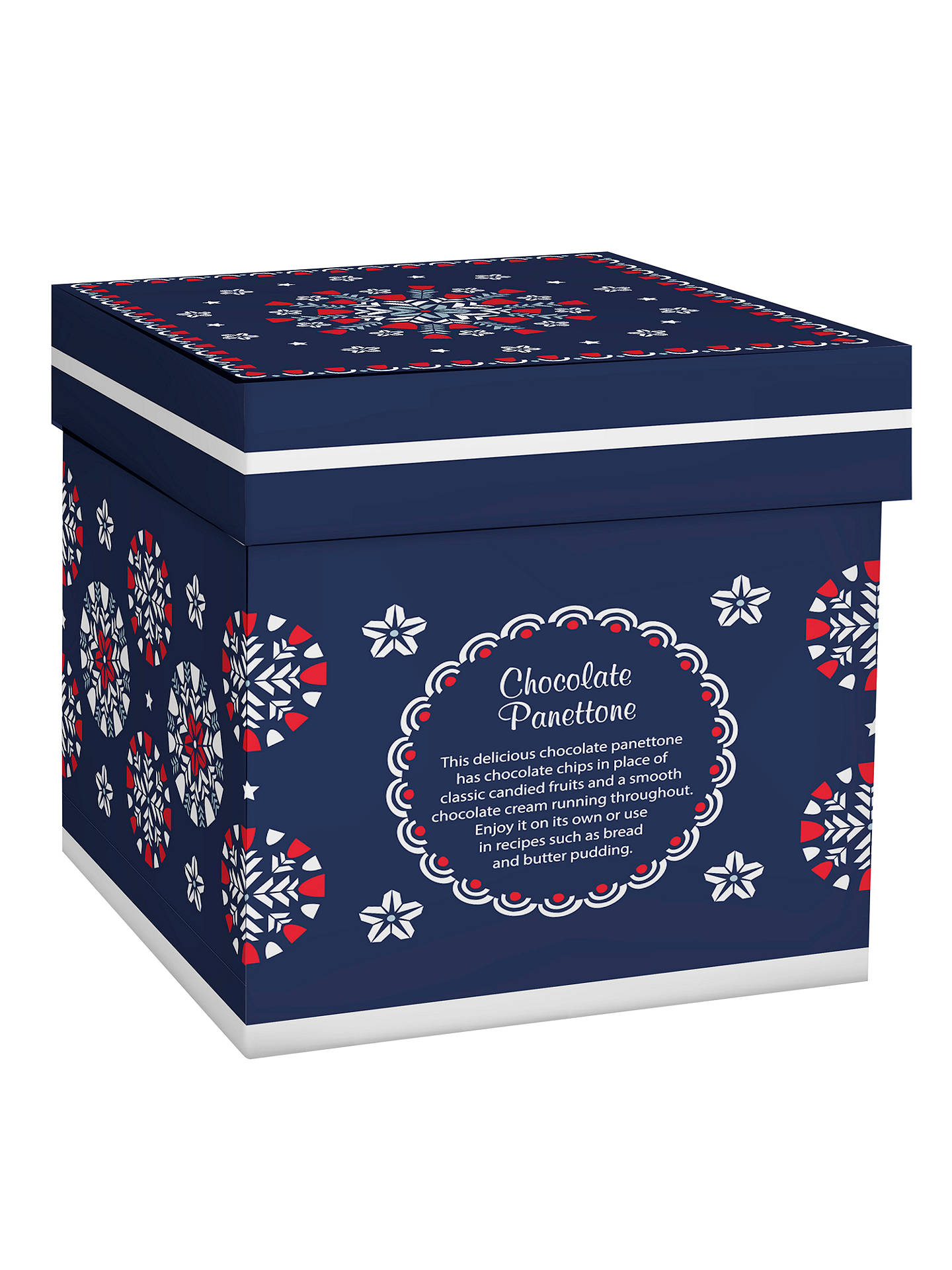 Chocolate Panettone 750g At John Lewis Partners