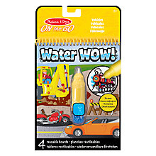 Buy Melissa & Doug Water Wow Reusable Boards, Assorted Online at johnlewis.com