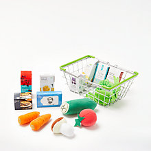 Buy John Lewis Fabric Food In a Basket Online at johnlewis.com
