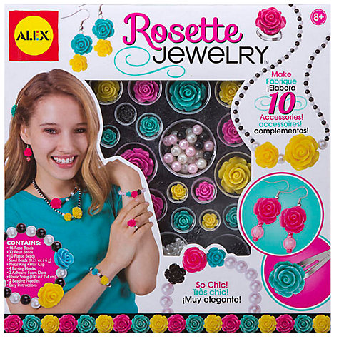 Buy ALEX Rosette Make Your Own Jewellery Kit Online at johnlewis.com