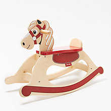 Buy John Lewis Carousel Wooden Rocking Horse Online at johnlewis.com