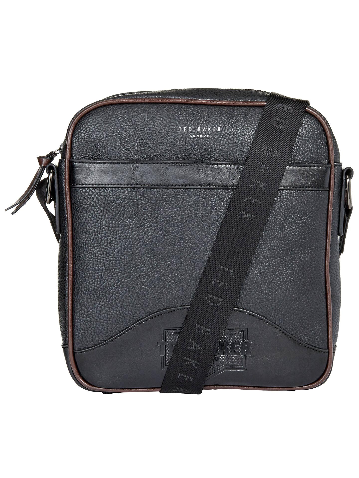 bd354c4fdd07 Buy Ted Baker Isaac Embossed Flight Bag