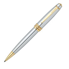 Buy Cross Bailey Medalist Ballpoint Pen, Silver Online at johnlewis.com