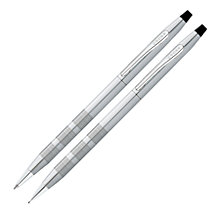 Buy Cross Ballpoint Pen & Pencil, Chrome Online at johnlewis.com