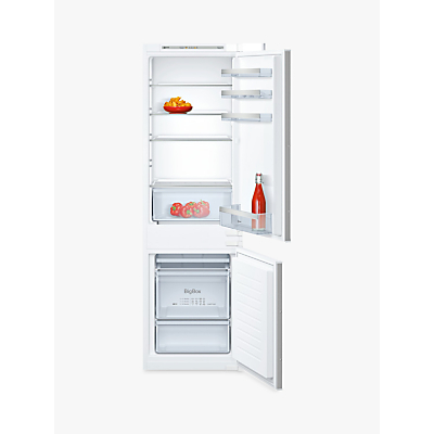 Image of Neff KI5862S30G 54cm Wide 70-30 Integrated Upright Fridge Freezer - White
