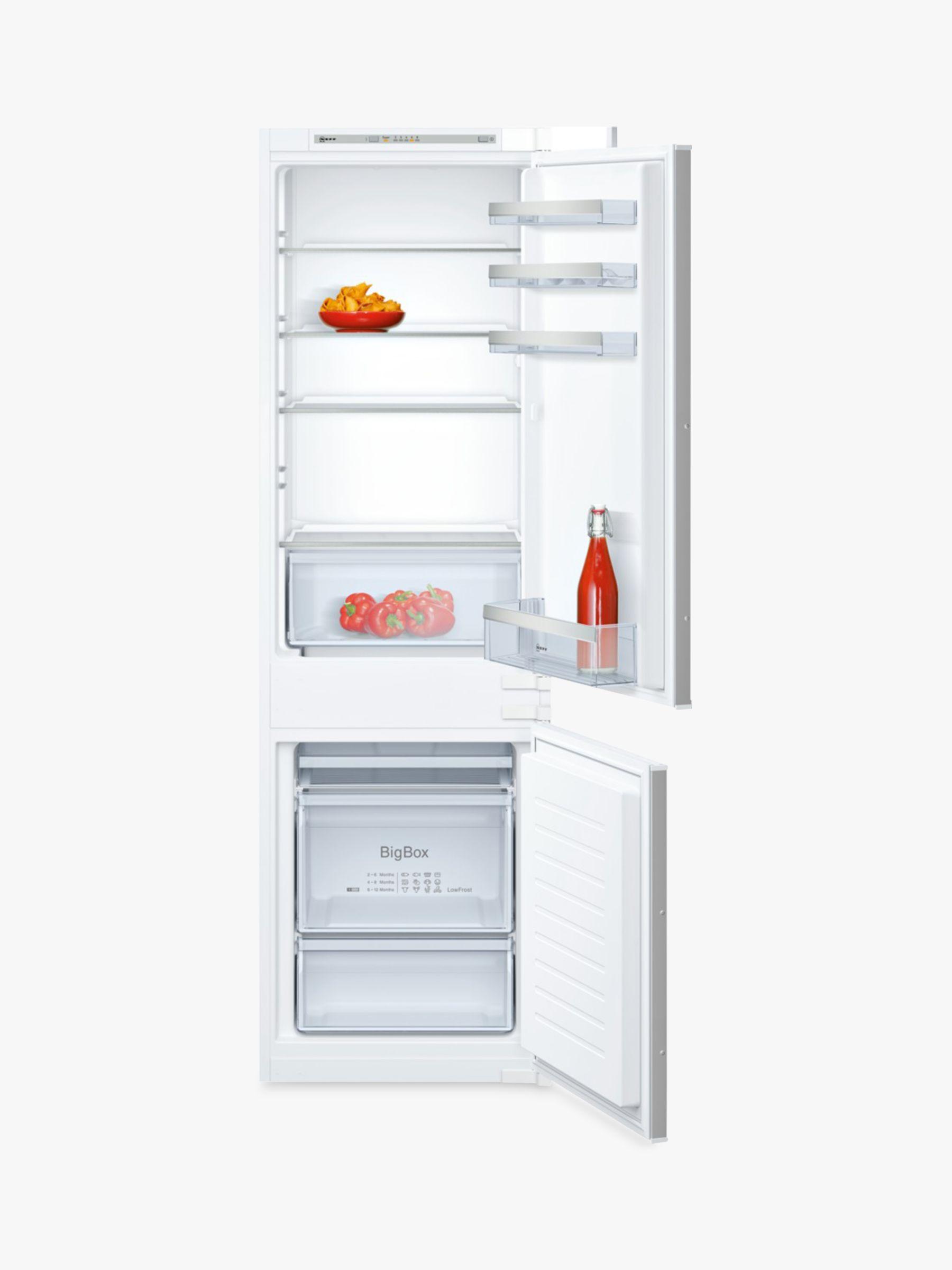 NEFF Neff KI5862S30G Integrated Fridge Freezer, A++ Energy Rating, 54cm Wide