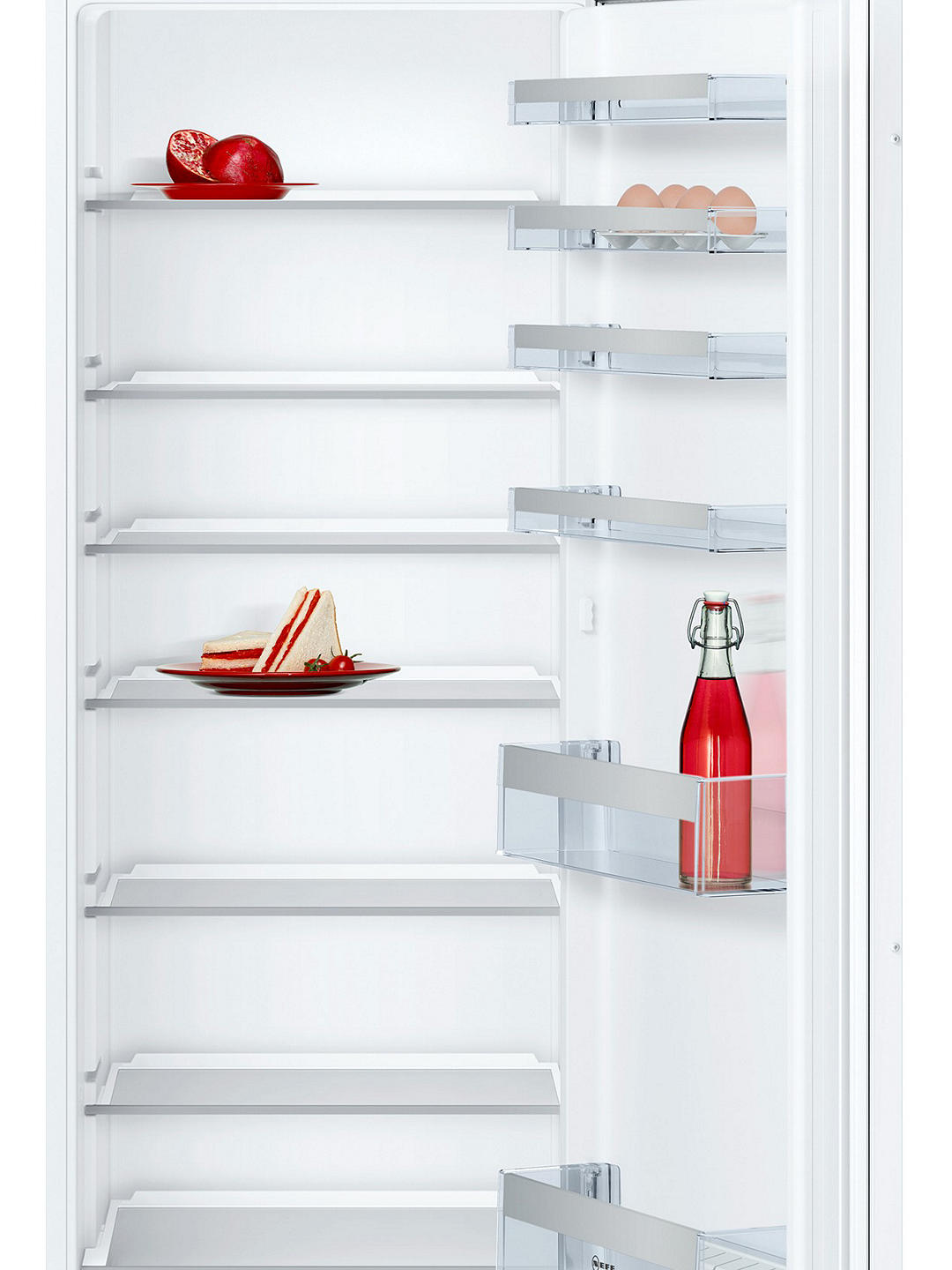 Buy Neff KI1812S30G Integrated Fridge, A++ Energy Rating, 54.1cm Wide Online at johnlewis.com