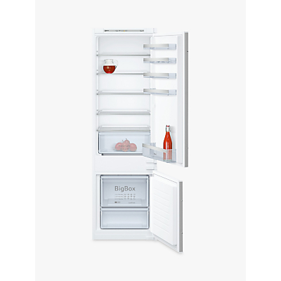 Image of Neff KI5872S30G 70:30 White Integrated Fridge freezer