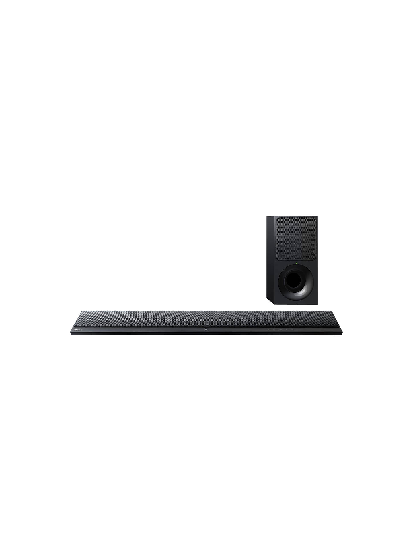 Sony HT-CT390 Bluetooth NFC Sound Bar with Wireless Subwoofer