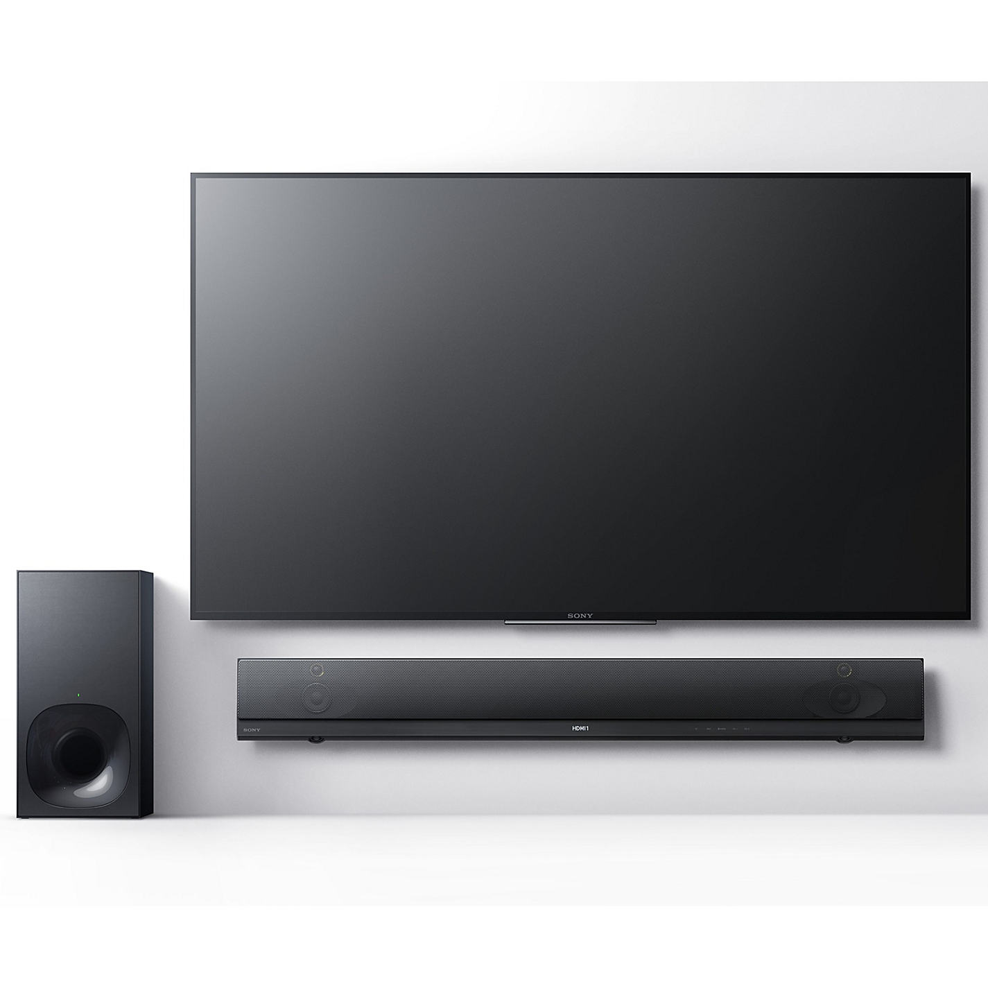 Buy Sony Ht Nt5 Bluetooth Nfc Sound Bar With Wireless Subwoofer  # Meuble Tv Sony Home Cinema