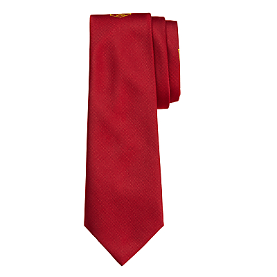 Product photo of Highclare school unisex senior tie red grey 45