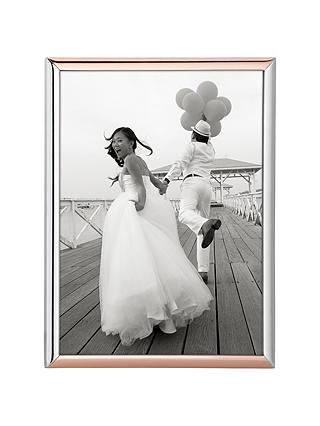Kate Spade New York Rosy Glow Photo Frame 5 X 7 Silver Rose At John Lewis Partners