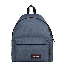 Buy Eastpak Padded Dok'r Backpack, Double Denim Online at johnlewis.com