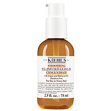 Buy Kiehl's Smoothing Oil-Infused Leave-In Concentrate, 75ml Online at johnlewis.com