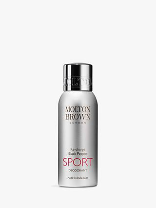 Molton Brown Re-Charge Black Pepper Sport Deodorant Spray, 150ml