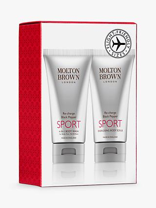 Molton Brown Re-Charge Black Pepper Sport Travel Kit