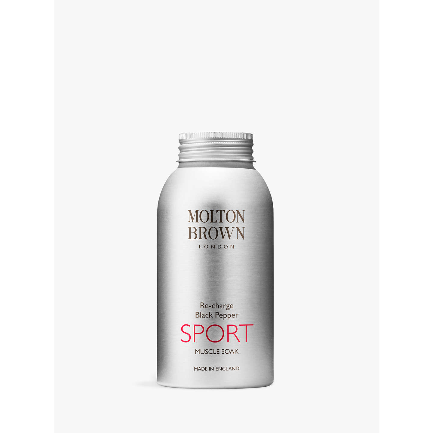 Clinique Body Cream Spf40 150ml At John Lewis: Molton Brown Re-Charge Black Pepper Sport Muscle Soak