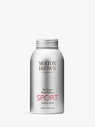 Molton Brown Re-Charge Black Pepper Sport Muscle Soak, 300g