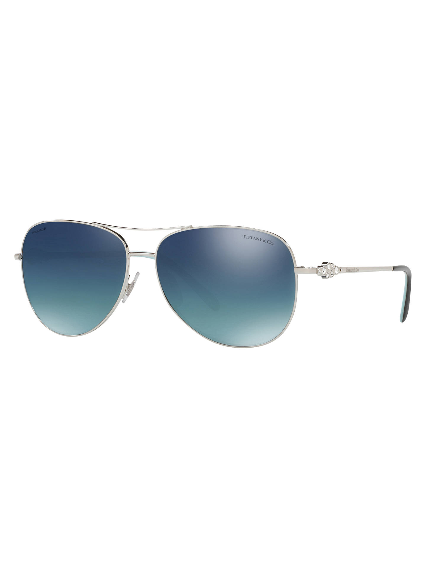 e2b64c303c1 Buy Tiffany   Co TF3052B Polarised Aviator Sunglasses