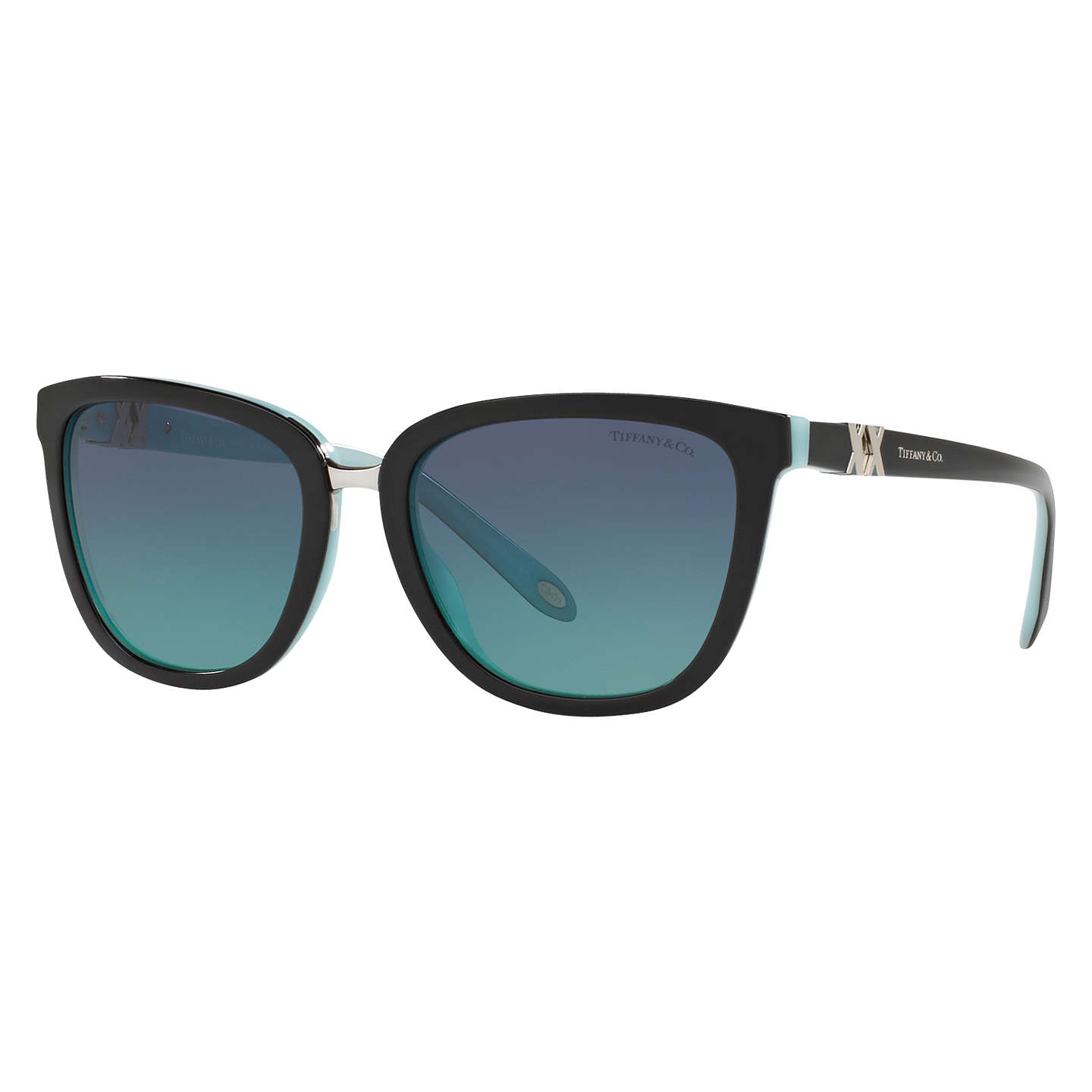 Tiffany & Co TF4123 D-Frame Sunglasses at John Lewis