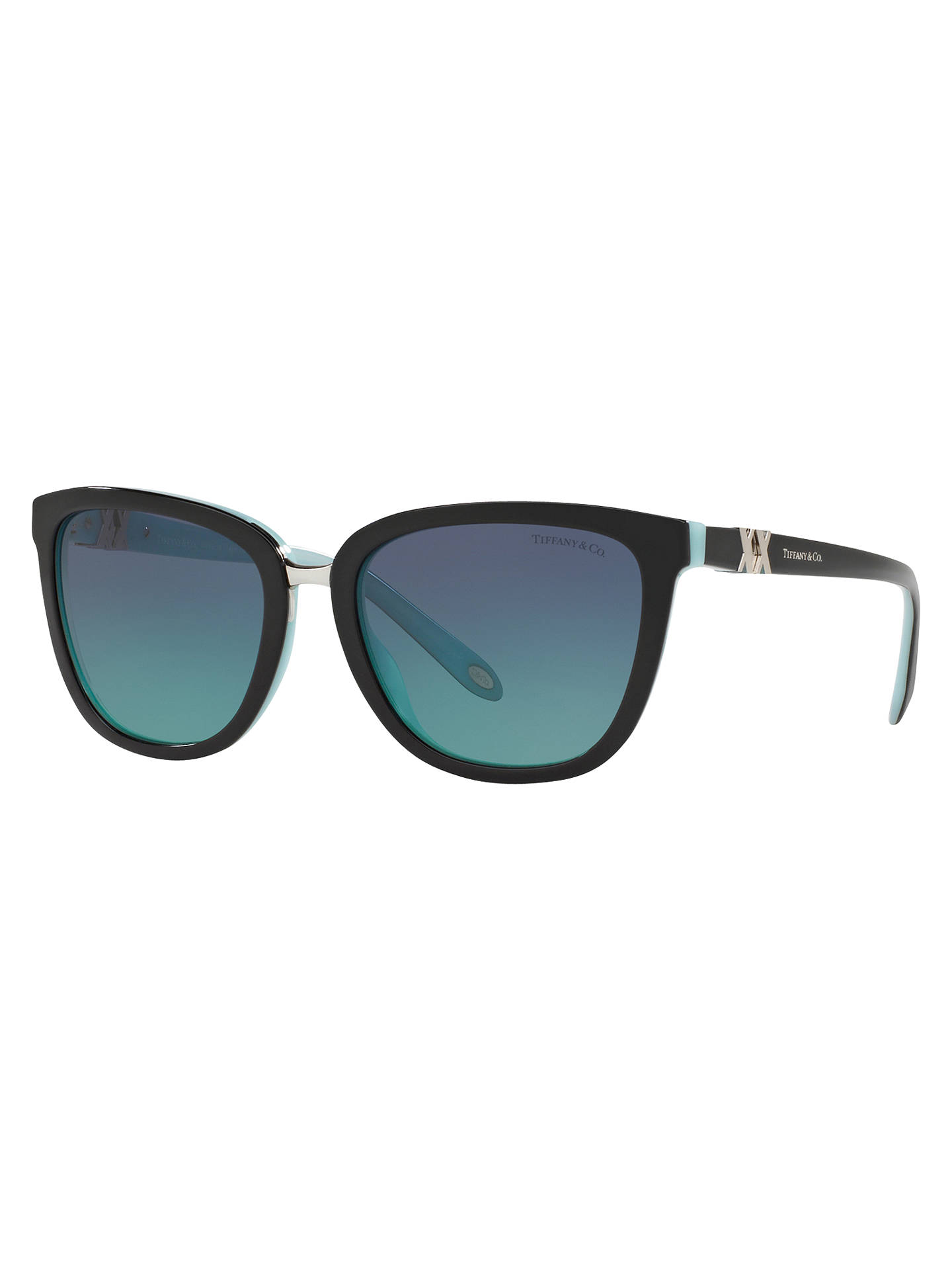 Tiffany & Co TF4123 D-Frame Sunglasses at John Lewis & Partners