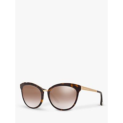 TOM FORD FT0461 Emma Cat's Eye Sunglasses, Tortoise