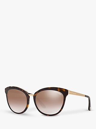 TOM FORD FT0461 Emma Cat's Eye Sunglasses, Tortoise