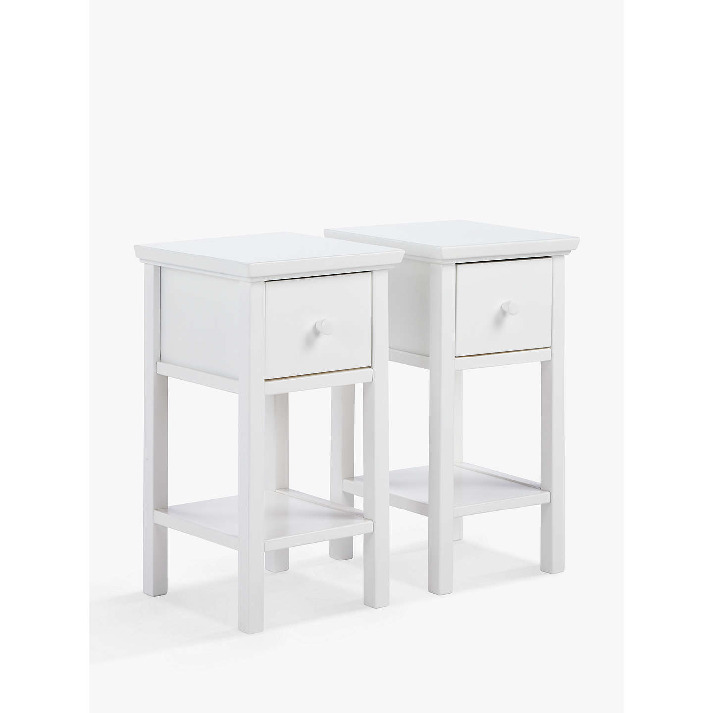 John Lewis Wilton Set Of 2 Bedside Tables At John Lewis