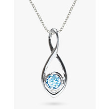 Buy Nina B Twist Pendant Chain Necklace Online at johnlewis.com