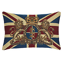 Buy John Lewis Victoria Crest Cushion Online at johnlewis.com