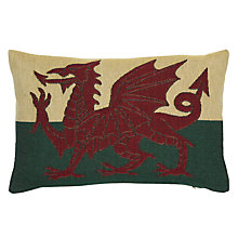 Buy John Lewis Welsh Dragon Cushion Online at johnlewis.com