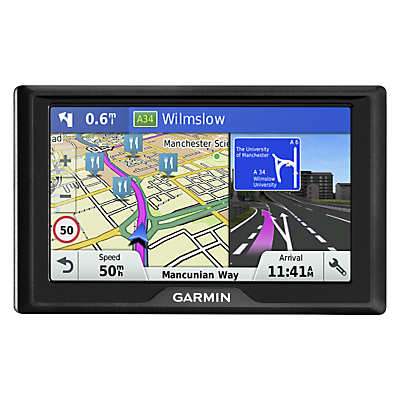 Garmin Drive 60LM Sat Nav With Lifetime Map Updates, Full Europe