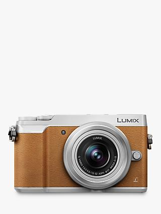 "Panasonic Lumix DMC-GX80 Compact System Camera with 12-32mm Interchangable Lens, 4K Ultra HD, 16MP, 4x Digital Zoom, Wi-Fi, 3"" LCD Touchscreen Free-Angle Monitor,Tan"