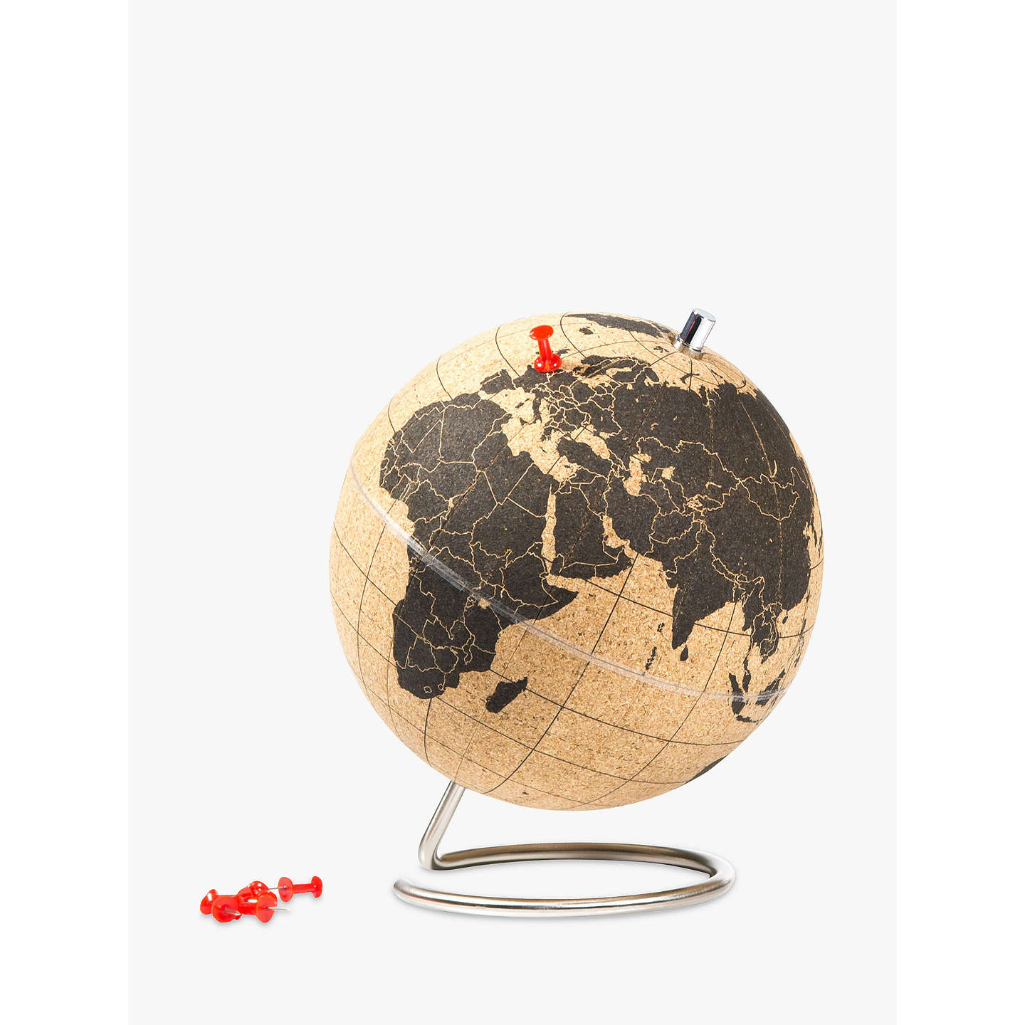 suck uk mini cork globe at john lewis. Black Bedroom Furniture Sets. Home Design Ideas