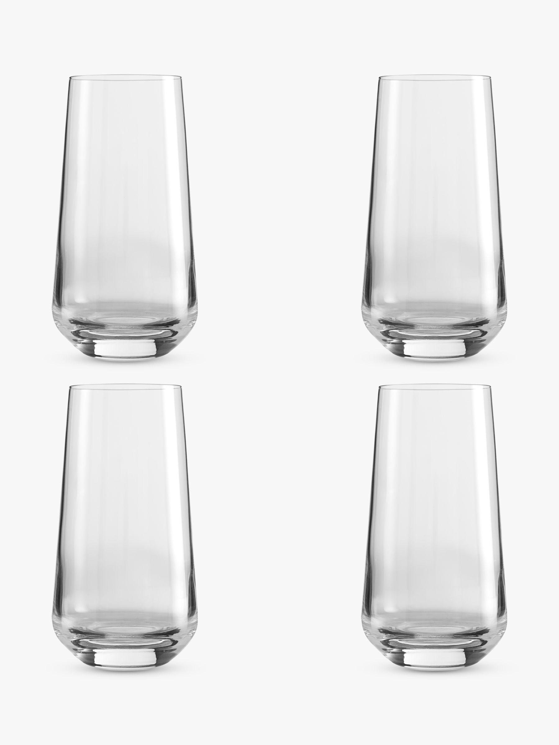 Design Project by John Lewis Design Project by John Lewis No.018 Highball Glasses, 500ml, Clear, Set of 4