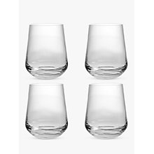 Buy Design Project by John Lewis No.018 Tumbler, Set of 4, Clear, 400ml Online at johnlewis.com