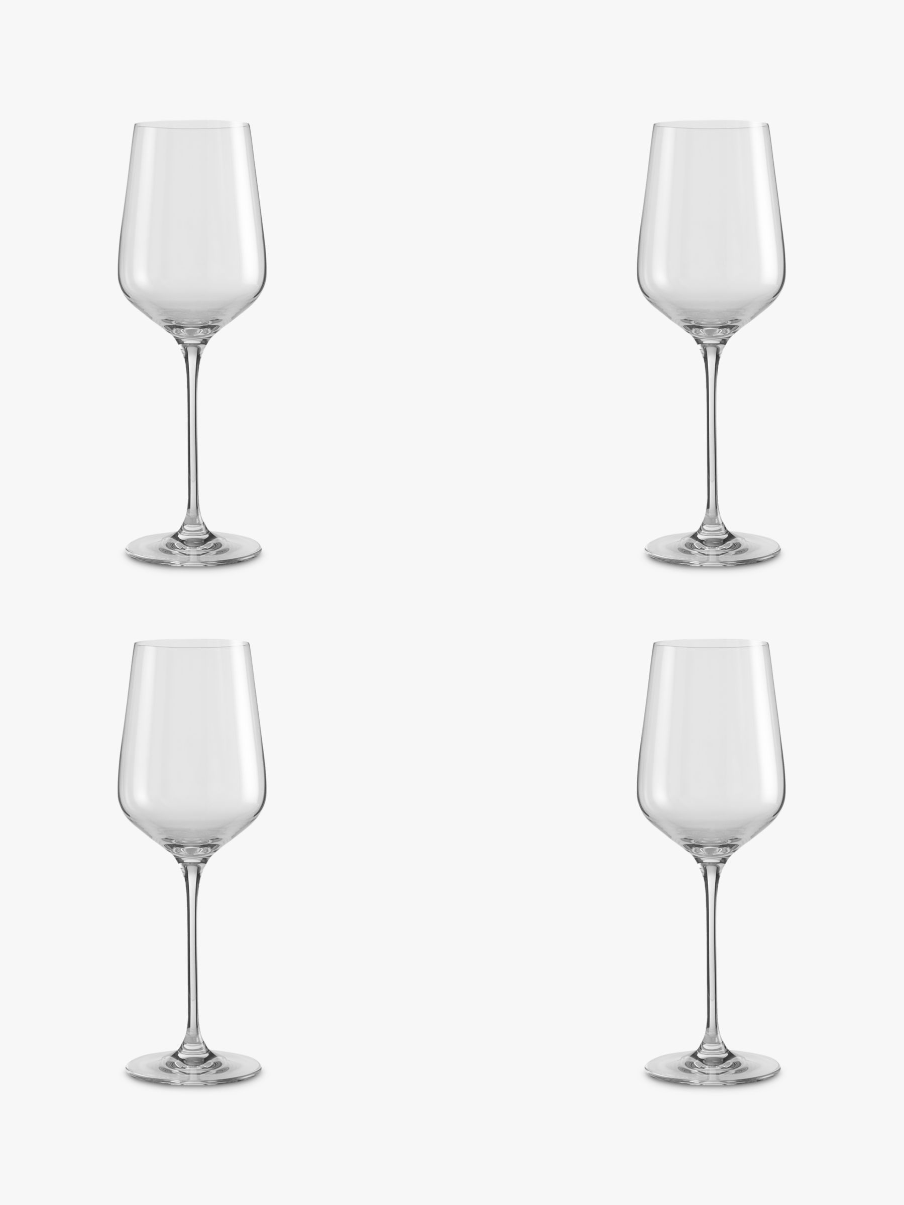 Design Project by John Lewis Design Project by John Lewis No.018 Red Wine Glasses, Set of 4, Clear, 450ml