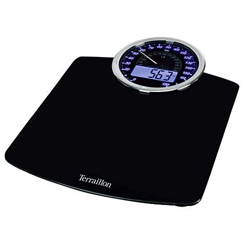 Buy Terraillon Speedometer Bathroom Scale Online at johnlewis com. Bathroom Scales   John Lewis