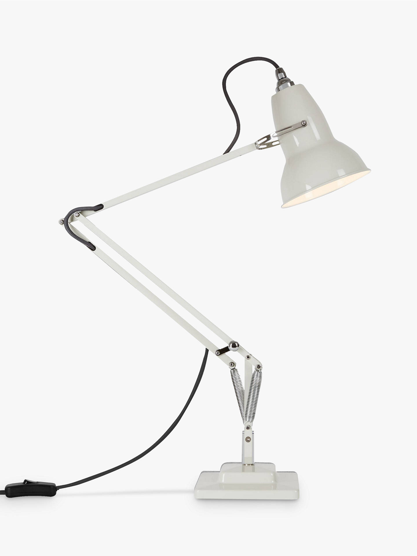 newest 81efe a108e Anglepoise Original 1227 Desk Lamp, Linen