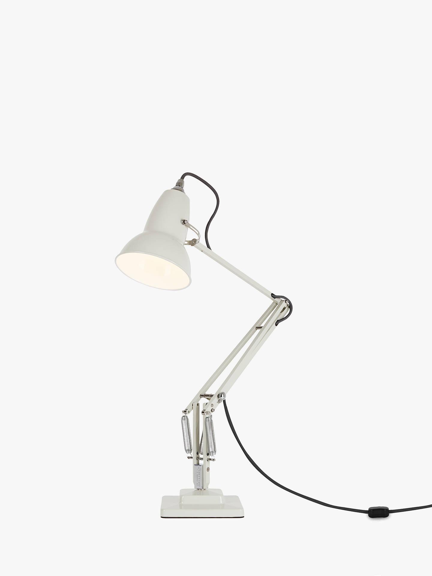 Buy Anglepoise Original 1227 Desk Lamp, Linen White Online at johnlewis.com  ...
